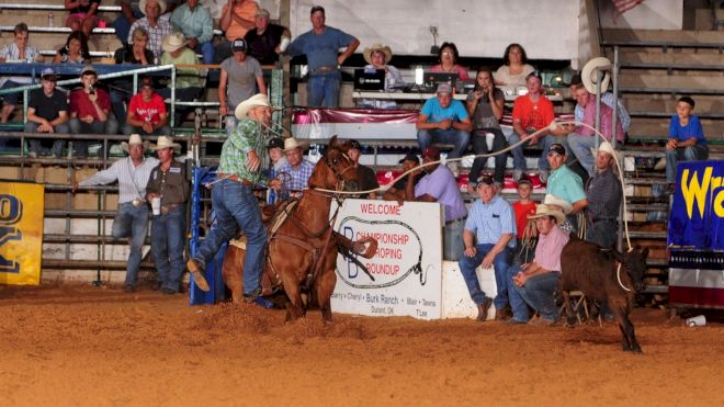 Weekend Round-Up: Louisiana JH Finals, Moncton, Barry Burk Roping