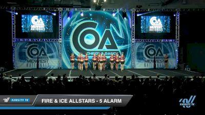 Fire & Ice Allstars - 5 Alarm [2020 L6 Senior - XSmall Day 2] 2020 COA: Midwest National Championship