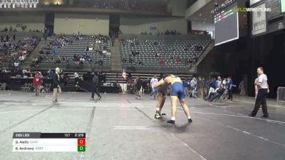 285 lbs Consolation - Darryl Aiello, Clackamas vs Brian Andrews, Northeast Oklahoma