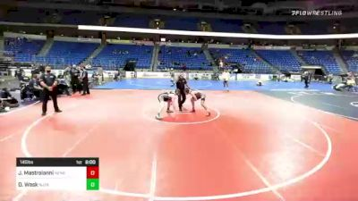 145 lbs Final - Justin Mastroianni, New England vs Danny Wask, NJ/NY