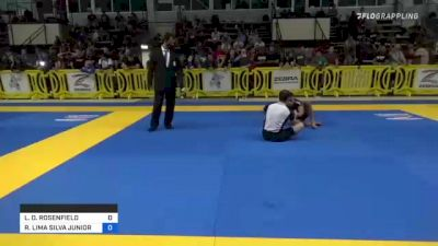LEE D. ROSENFIELD vs ROITER LIMA SILVA JUNIOR 2021 Pan IBJJF Jiu-Jitsu No-Gi Championship