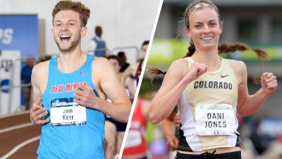 NCAA 1500m Preview: Josh Kerr, Dani Jones Lead Loaded Fields