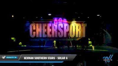 Newnan Southern Stars - SOLAR 6 [2021 L6 International Open - NT Day 2] 2021 CHEERSPORT National Cheerleading Championship