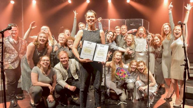 'Black Sheep' Win AAVF Choral Competition