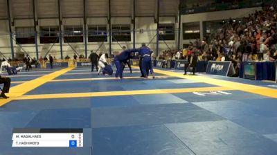 MATHEUS MAGALHAES vs TOMOYUKI HASHIMOTO 2018 World IBJJF Jiu-Jitsu Championship