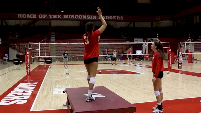 Serving Keys With Wisconsin's Kelly Sheffield