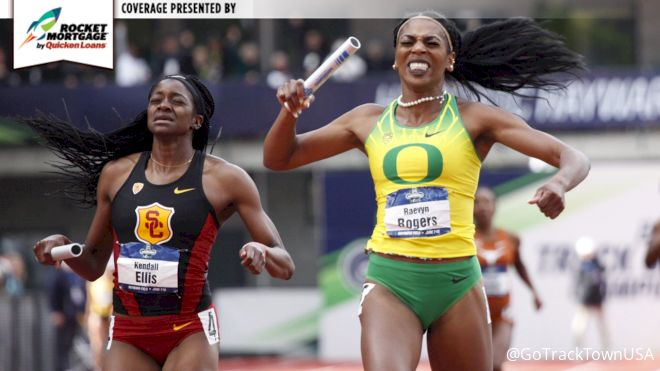 It Took A Collegiate Record, But Oregon Wins First Ever NCAA Triple Crown