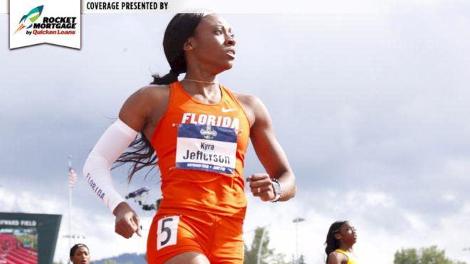Kyra Jefferson Sets NCAA Record In Bizarre 200m