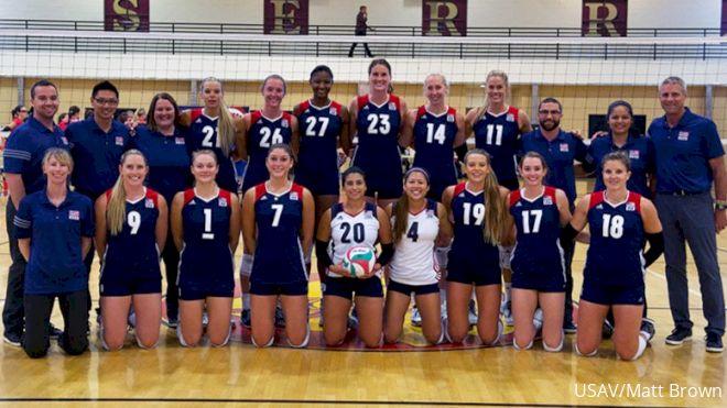 USA Women Sweep Canada In Friendly Match