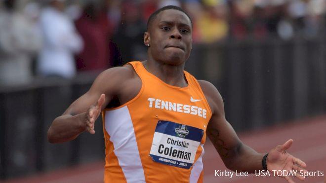 Christian Coleman Turns Pro