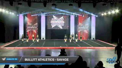 Bullitt Athletics - SAV4GE [2021 L4 Youth Day 2] 2021 JAMfest Cheer Super Nationals