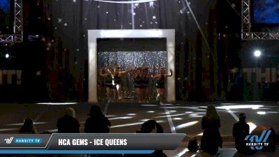 HCA Gems - Ice Queens [2021 L1.1 Tiny - PREP - D2 Day 1] 2021 The U.S. Finals: Louisville