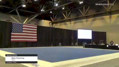 Bella Flemming - Women's Group, WOGA - 2021 USA Gymnastics Championships