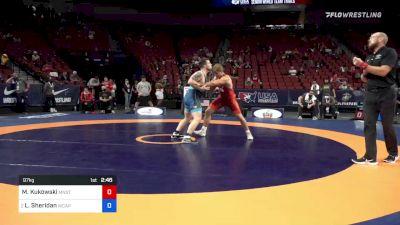 97 kg Quarters - MacAron Kukowski, Minnesota Storm vs Lucas Sheridan, Army (WCAP)