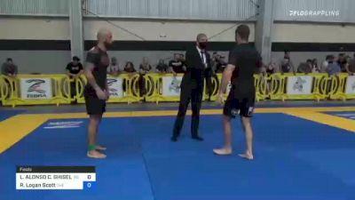LUIS ALONSO C. GHISELLINI vs Randy Logan Scott 2021 Pan IBJJF Jiu-Jitsu No-Gi Championship
