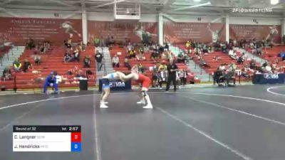 86 kg Prelims - Corey Langner, Georgia vs Jake Hendricks, Pennsylvania RTC
