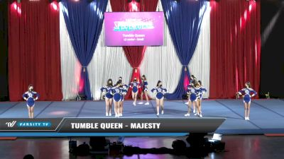 Tumble Queen - Majesty [2021 L2 Junior - Small Day 1] 2021 The American Spectacular DI & DII