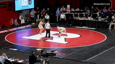 184 lbs 5th Place - Rocky Jordan, Ohio State vs Max Lyon, Purdue