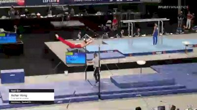 Asher Hong - High Bar, Cypress Academy - 2021 US Championships