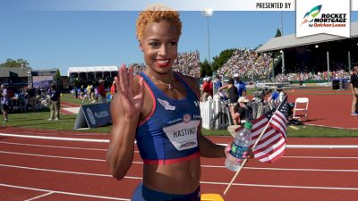 Hometown Heroes: Natasha Hastings On Lessons Learned From Coaches
