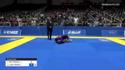 JAYLON RAY POWELL vs JOSHUA LUKE TERAO 2021 World IBJJF Jiu-Jitsu No-Gi Championship