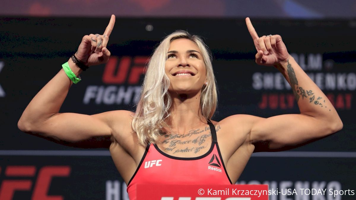 Kailin Curran Reflects On Rough Road, Opportunity Ahead At UFC 214