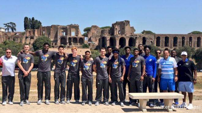 The Official Timeline Of The Kansas Jayhawks' Trip To Italy