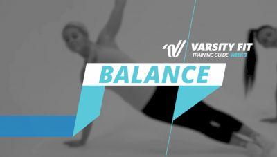 Varsity Fit: Week 3, Ex 5, Balance