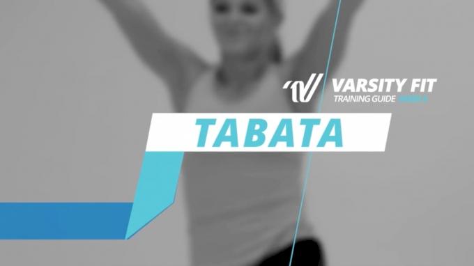 VARSITY FIT: Week 4, Ex 8, Tabata
