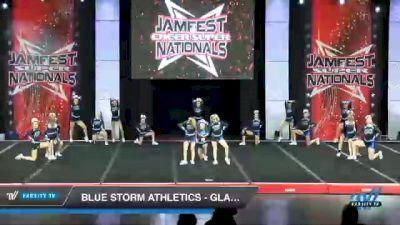 Blue Storm Athletics - GLACIER GIRLS [2021 L4 Junior - D2 - Small Day 2] 2021 JAMfest Cheer Super Nationals