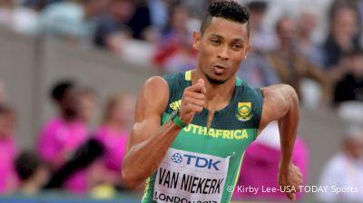 Is Wayde van Niekerk Done? Analyzing The World Record Holder's Recent Performances