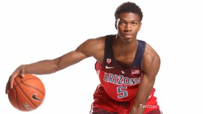 Arizona Freshman Guard Brandon Randolph Goes Flying In His Spain Debut
