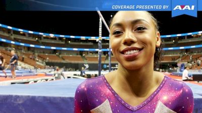 Margzetta Frazier: 'It Feels So Right. I Should Be Here.' - 2017 P&G Championships Women Day 1
