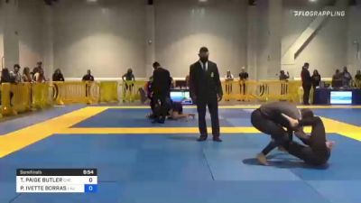 TIFFANY PAIGE BUTLER vs PAIGE IVETTE BORRAS 2021 American National IBJJF Jiu-Jitsu Championship