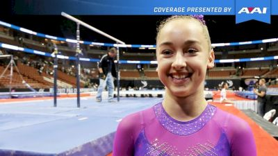 Audrey Davis On 1st P&G Championships & Making The National Team - 2017 P&G Championships Women Day 2