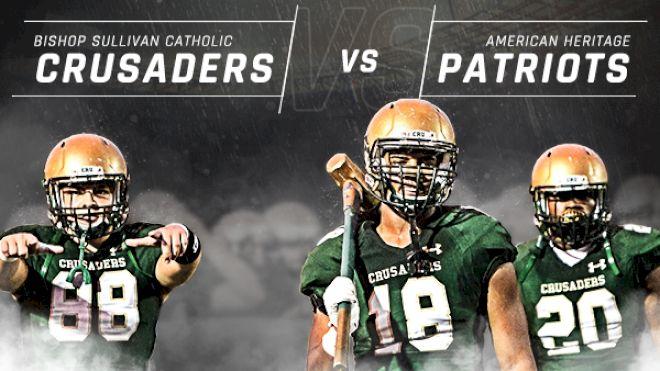 Patriots vs. Crusaders
