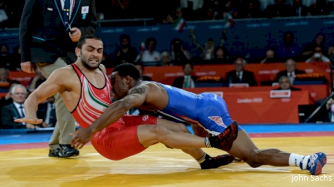 picture of Olympic Level Wrestling Technique