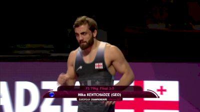 79 kg 3rd Place - Arman Avagyan, ARM vs Nika Kentchadze, GEO