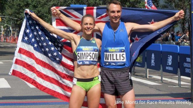 Veterans Jenny Simpson, Nick Willis Win Again At 5th Avenue Mile