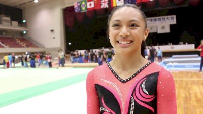 Emma Malabuyo Finishes Her Junior Elite Career With Gold - Event Finals, 2017 International Junior Japan