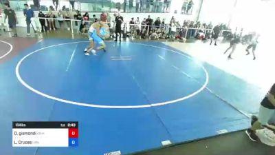 184 lbs Rr Rnd 3 - Doug Gismondi, Gismo Rock vs Luis Cruces, Lions Den WC