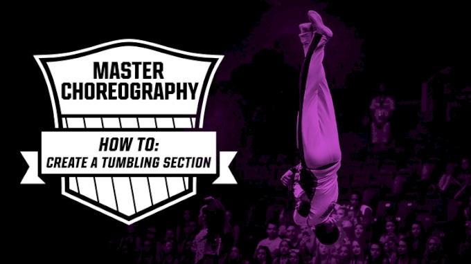 Master Choreography: Tumbling Section