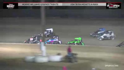 Feature Replay   USAC Western States Midgets at Keller Auto Speedway