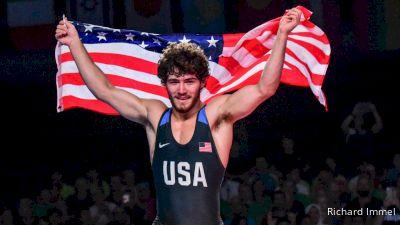 Gold 55kg - Daton Fix (USA) vs Ismail Gadzhiev