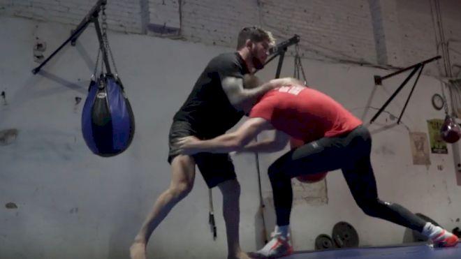 VIDEO: Dillon Danis Scrambles With 2x NCAA Champion David Taylor