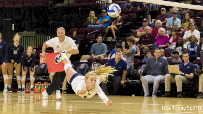 picture of Maryland at Penn State | 2017 NCAA Women's Volleyball