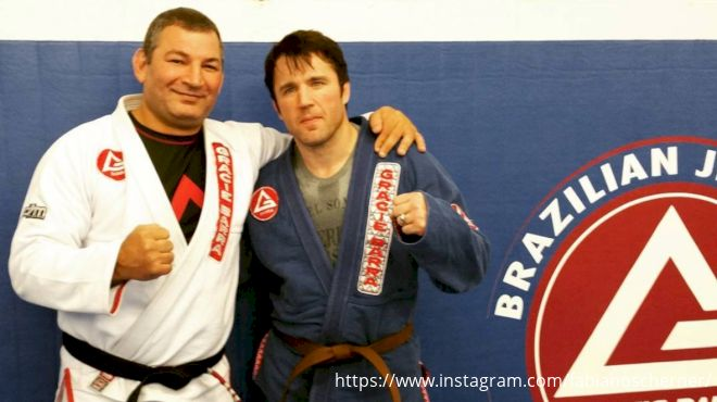 Chael Sonnen Humbled By Unexpected Jiu-Jitsu Promotion