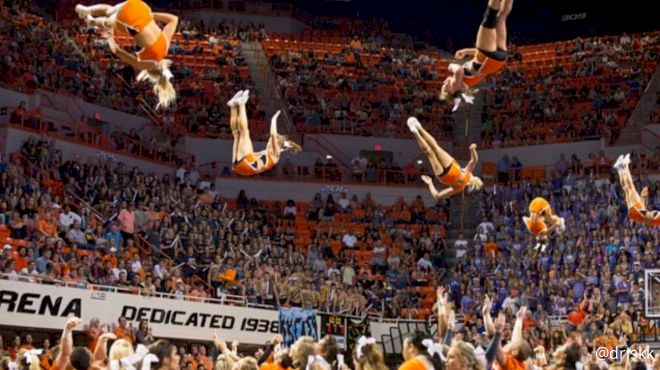 5 Fulls And A Homecoming Win From OSU Cheer!