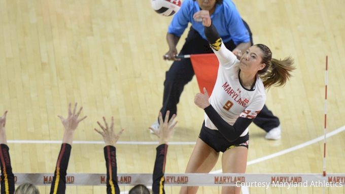 picture of Maryland at Wisconsin | 2017 NCAA Women's Volleyball