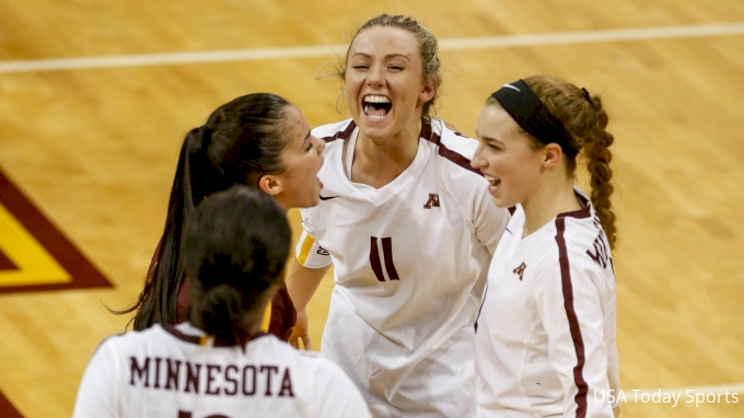 picture of Minnesota at Indiana | 2017 NCAA Women's Volleyball